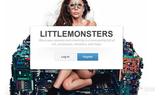 Lady Gaga, little monsters, think like a rock star