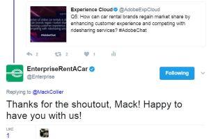 Enterprise responds to Mack Collier