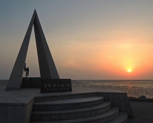 日本最北端,宗谷岬神社,宗谷岬,日の出,サロマ湖【端めぐり】【神社めぐり】