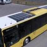 世界初のセミハイブリッドのソーラー発電バスが出現したっっ