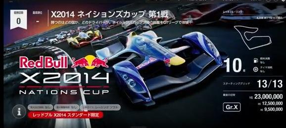 GT SPORT,X2014,ネイションズカップ,1戦,2戦,レッドブル,サンクロワ-C,2018,11月,アップデート