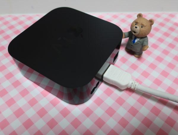MacとテレビをApple TV 4Kでミラーリングする設定