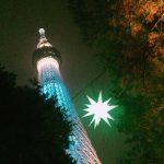 東京スカイツリーの夜景,イルミネーション,押上駅の限定グッズ