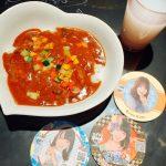 AKB48カフェ#5,STU48カレー、のんちゃん,れなっち,コースター