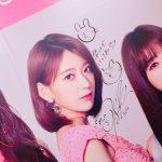 【IZONE~渋谷109・東京】IZONEメンバーの直筆サインとかショップのようす