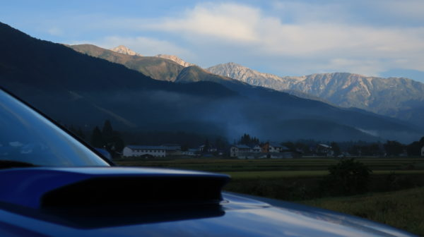 【絶景ドライブ】白馬から黒部ダムに向かう早朝の北アルプスの絶景~幻想的でした、信州、長野県