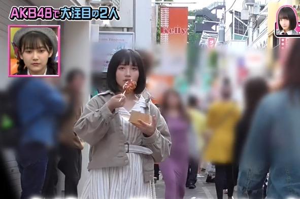 矢作萌夏,原宿に行けば会えるっっ確率高そう,AKB48