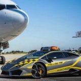 ランボルギーニを空港の業務車両に導入した、イタリアの空港