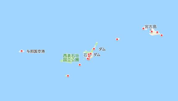 ハイドラ、離島、取り残しマップ、2019.7現在