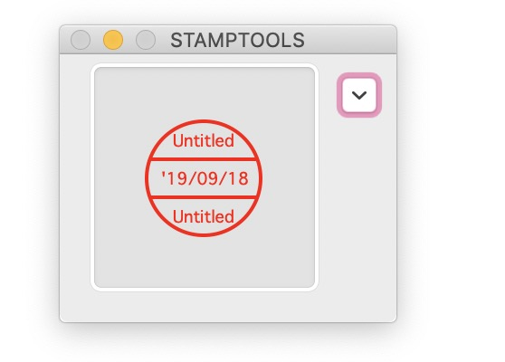 mac,オリジナルのスタンプを作れる STAMPTOOLS これはおもしろくて便利