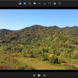 ねむたい画像を明るく調整、明るさと彩度upで。iMovie