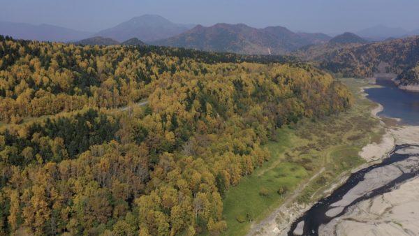 ~紅葉~北海道~大雪山国立公園~石狩川・高原大橋・大雪湖~part 1