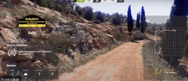 WRC2クラス,最終戦,スペイン,総合優勝,悪天候の最難関ラリー,WRC 8 キャリアモード,RACC,カタルーニャ-コスタ・ドラダ(Rally Catalunya Costa Daurada)