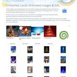 クリスマス グリーティングカード アニメーションあり 無料のもの