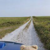 【絶景ドライブ 100選 #14】宗谷丘陵・シェルロード・白い道・北海道【ドローン空撮】
