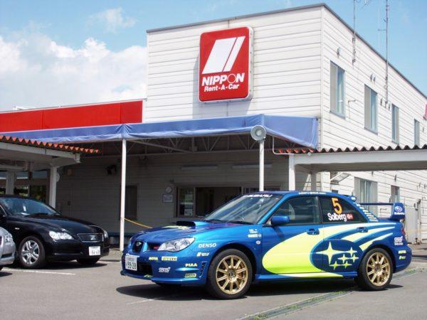 日本レンタカー北海道がWRC日本開催を記念してスバルWRXでレンタカーキャンペーン予定