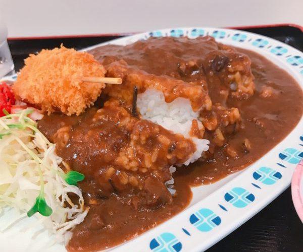 【串カツ ビーフカレー】肉やわらか、ころもさくさく