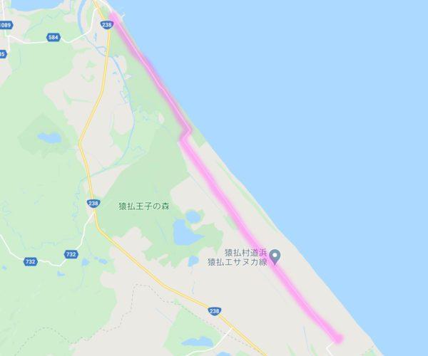 【絶景ドライブ 100選 #3】エサヌカ線 北海道
