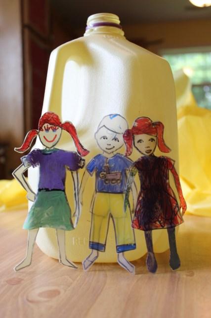 "Milk Jug ""Paper Dolls"""