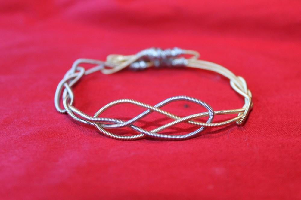 Handmade Day #4: Josephine Knot Guitar String Bracelet (Women's)