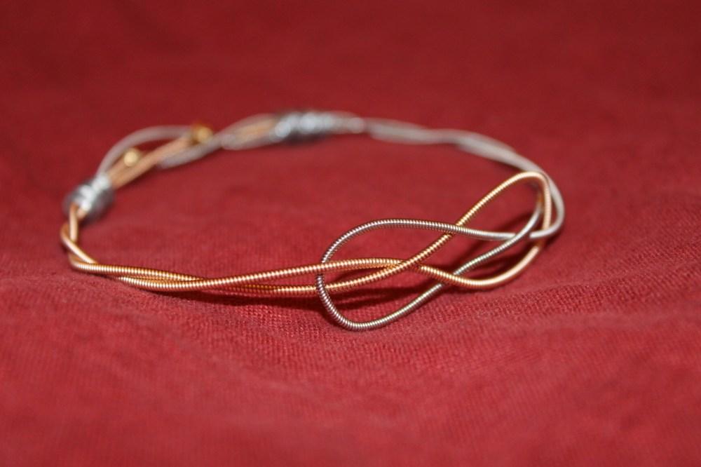 Handmade #11: Josephine Knot Guitar String Bracelet