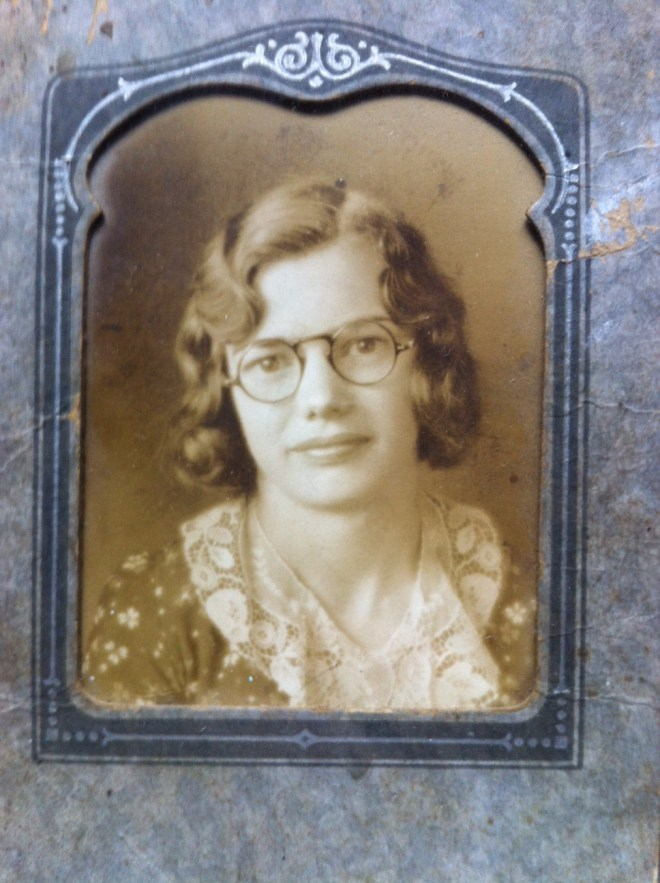 my beautiful Grandma, Gladys G. Newell