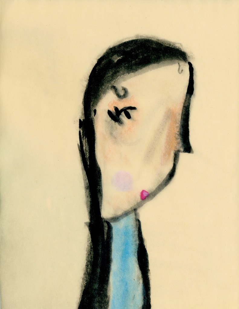 Dark-haired Girl by Rosie, age 7