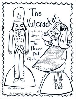 The Nutcracker Paper Doll 1