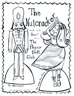 The Nutcracker Paper Doll 1