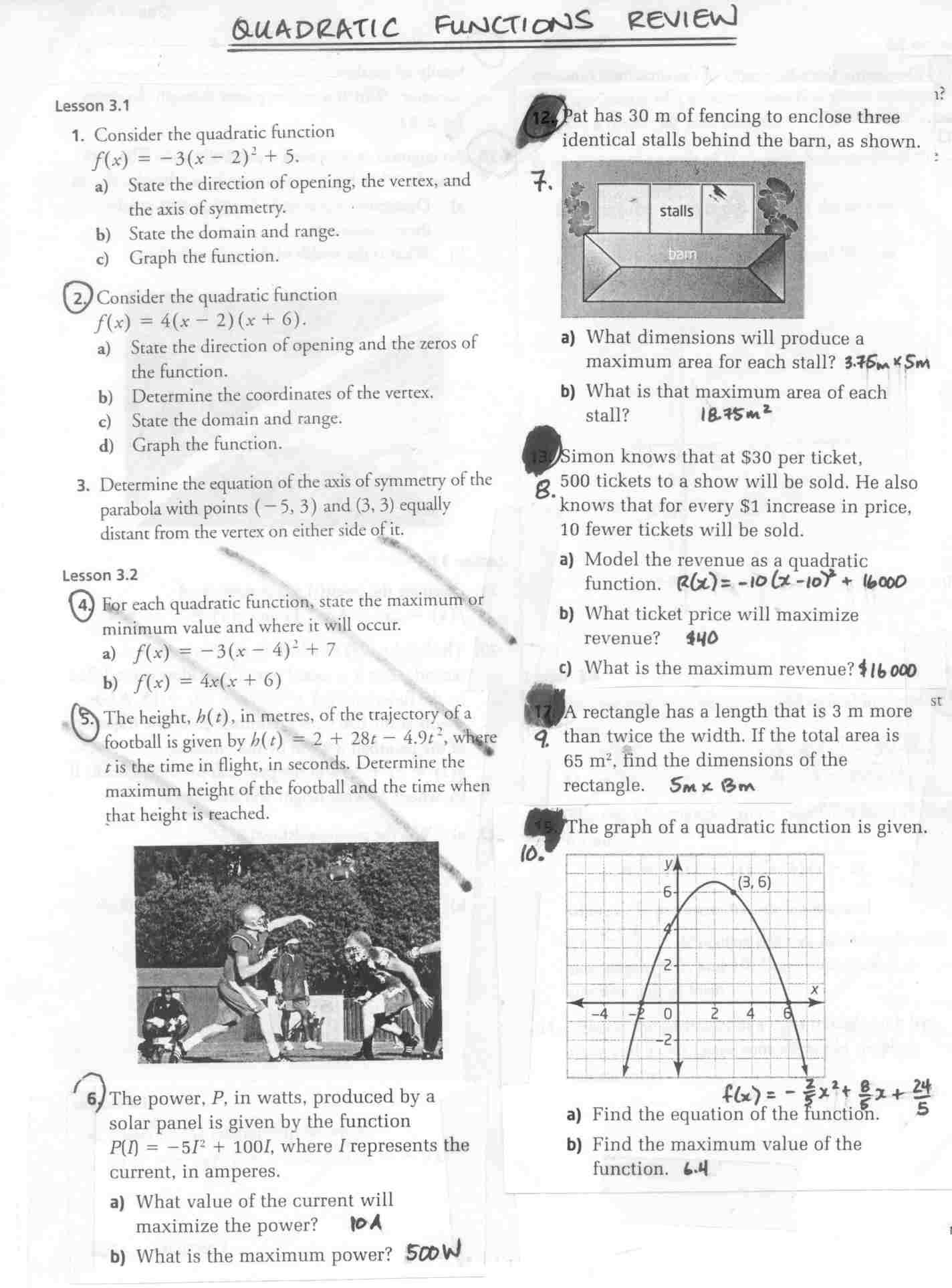 Grade 11 Trigonometry Tests