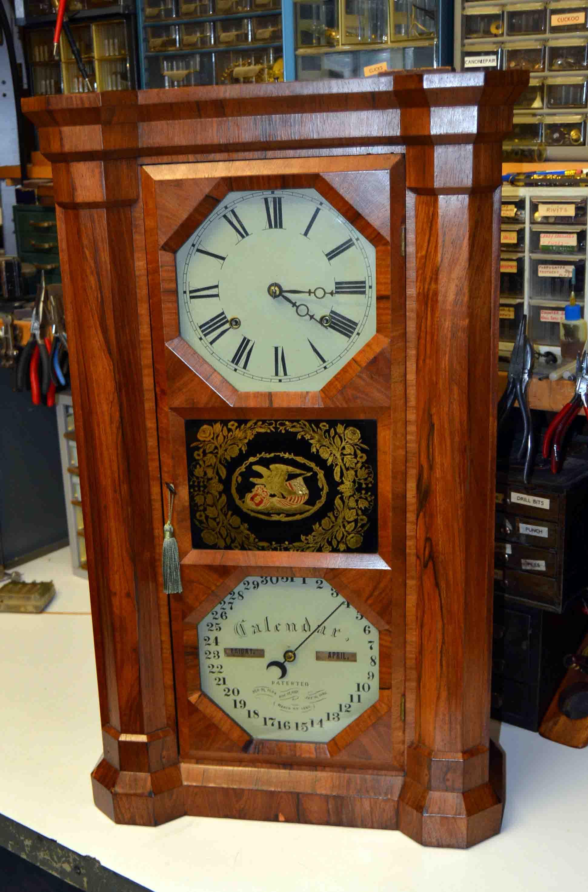 Antique Calendar Clocks