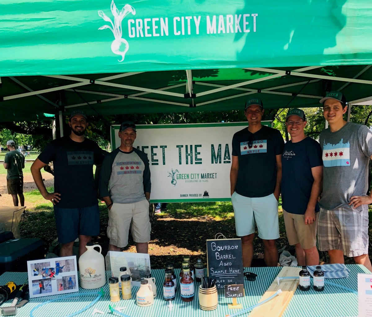 Chicago Maple team at Green City Market