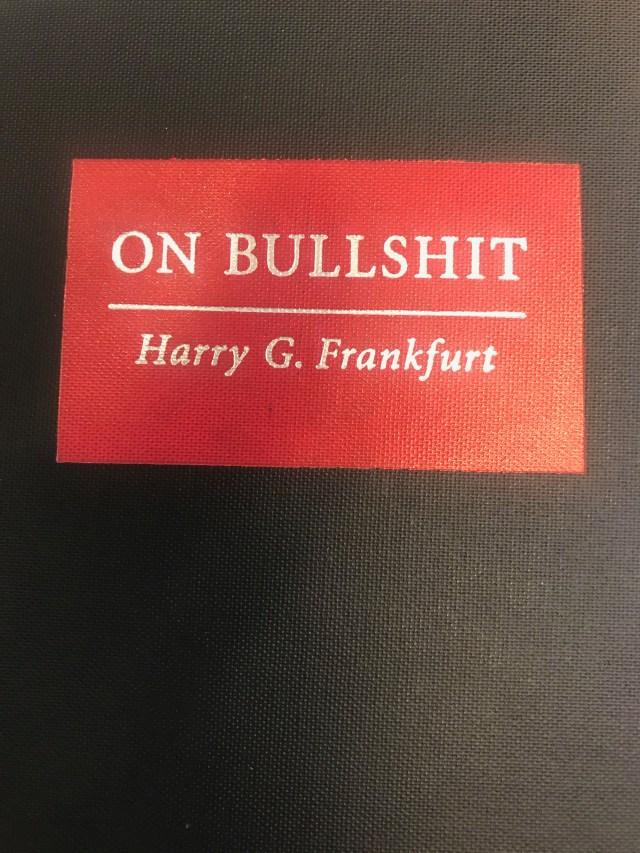 On Bullshit