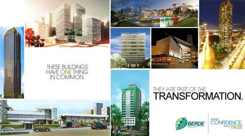Building Green BERDE Registered Buildings