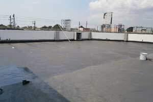 Waterproofing of Vertis North roof deck