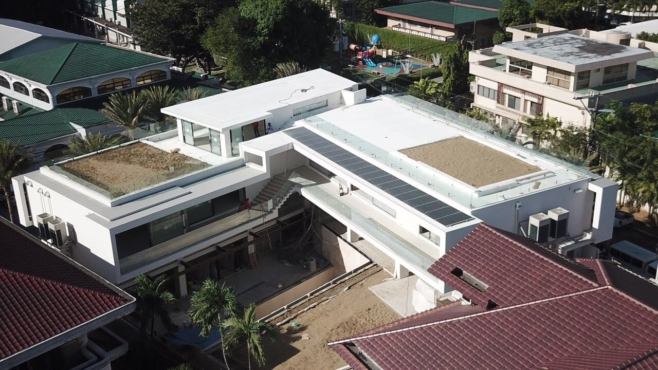 Laude Residence aerial view