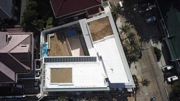 Laude aerial view