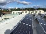 Solar & ACCU on Sarnafil membrane