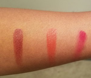 Inglot Freedom System Lipstick Swatches