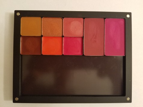 Inglot Freedom System Eyeshadow, Blush, and Lip