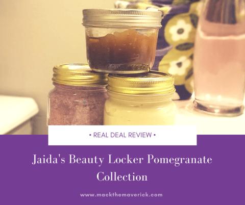 Jaida's Beauty Locker Pomegranate Collection