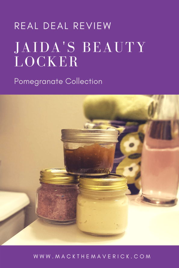 Jaidas Beauty Locker Pomegranate Collection