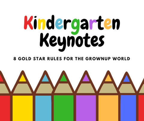 Kindergarten Keynotes - Pencils