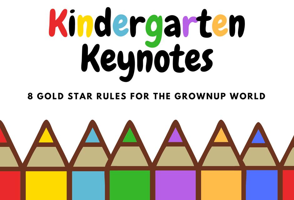 Kindergarten Keynotes - Pencils