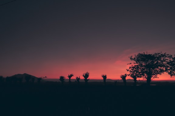 sunset pink preset lightroom