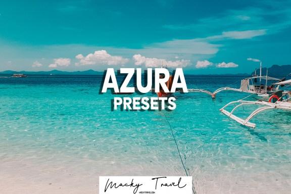 AZURA Lightroom presets dng xmp