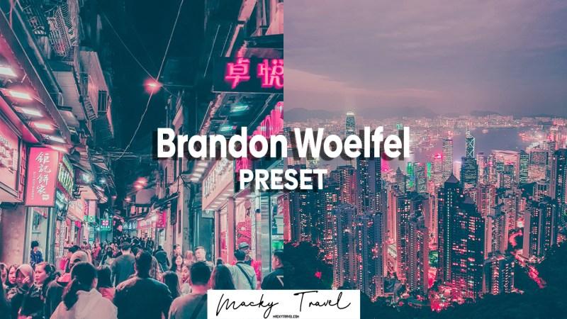 LIGHTROOM PRESETS DNG XMP Brandon Woelfel