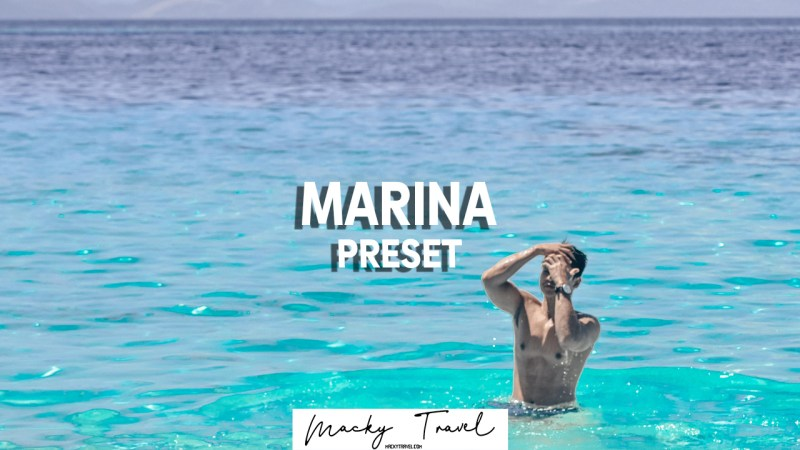 MARINA LIGHTROOM PRESETS