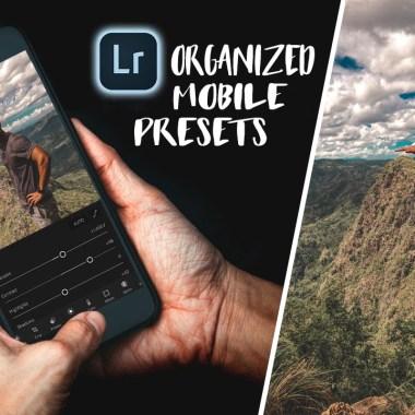 Organized mobile presets