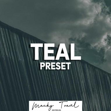 Teal lightroom presets